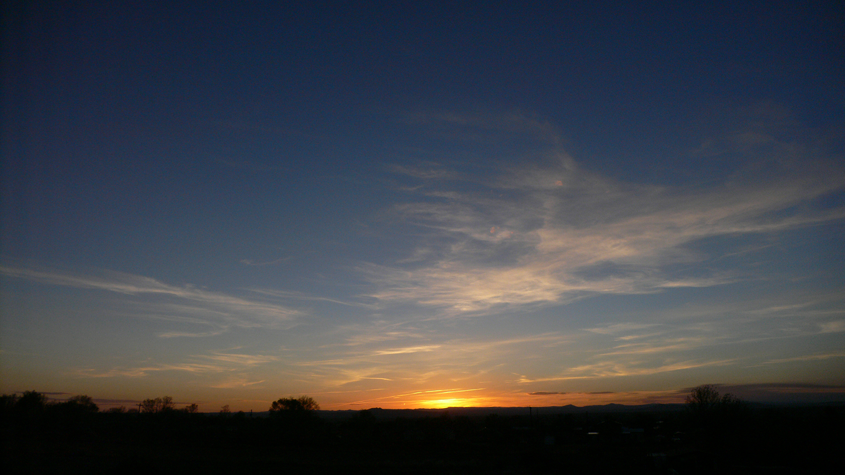 Taos New Mexico- sunset